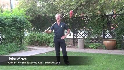 Drunken Spear of Kung Fu_ Training Video 1