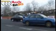 Subaru Impreza Wrx Sti vs Audi 80 Turbo