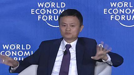 China: Alibaba chief Jack Ma talks US-China trade relations at WEF meet