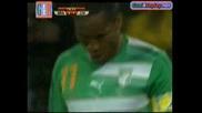World Cup - Бразилия - Кот Дивоар ( 3 - 1) ( Всички голове) !