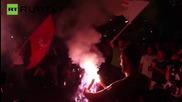 EU flags burn as 61% of Greeks vote 'OXI' in Referendum