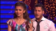 Zendaya & Val - Dancing with the stars (week 8) - Foxtrot - May 6