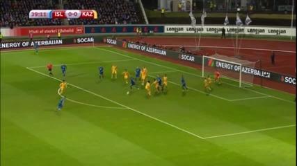 Исландия - Казахстан 0:0
