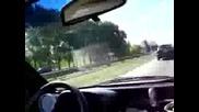 Driving Daewoo Tico