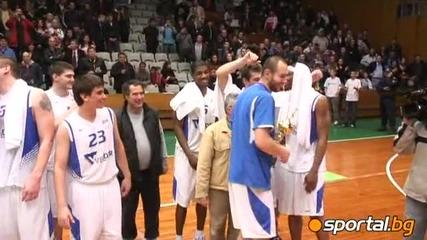 15.04.2010 Левски триумфира в Балканската лига