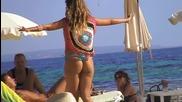 Summer Beach party Ibiza girls Slow Motion