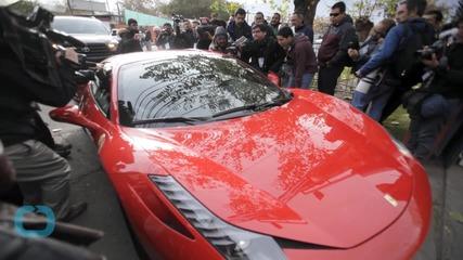 Soccer Star Arturo Vidal -- Dodges Bullet In DUI Ferrari Crash