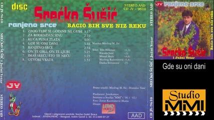 Srecko Susic i Juzni Vetar - Gde su oni dani (Audio 1996)