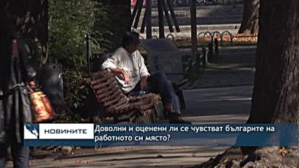 Доволни и оценени ли са българите на работното си място?
