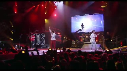 Jonas Brothers S.o.s. Live best of both worlds concert bg subs *hq*