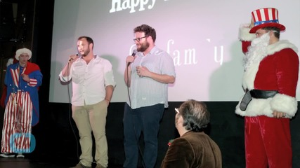 Rogen 'Thrilled' That People Saw 'The Interview' in Theaters