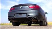 Bmw M6 Acceleration Sound + short Presentation V8 Biturbo F12 Cabrio convertible revving revs F13