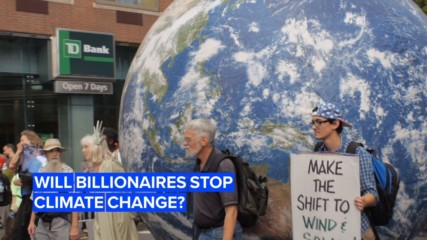 The 3 billionaires who might save our planet with their wealth