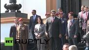 """Венецуелският президент отдава почит на """"Кубинската петица"""""""