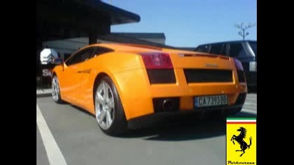 Много Яко Lamborghini Gallardo В София !