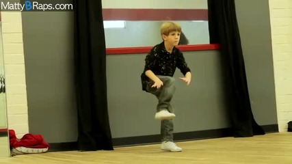 8 Year Old Rapper Mattyb Goes To Dance Class...