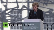 Меркел се присъедини към оцелелите след лагера Дахау