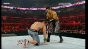 Raw 06/29/09 John Cena vs The Miz [ Night of Champions Tournament semi - finals]*първа част*