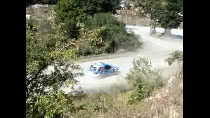 Рали Сливен 2008 Opel Corsa се завърта
