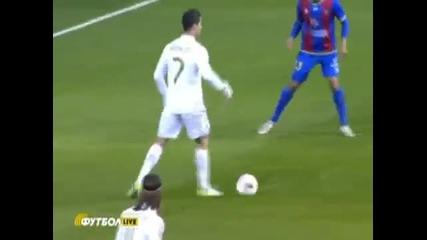 Зверският гол на Кристиано Роналдо срещу Леванте