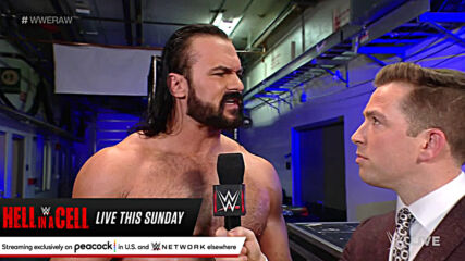 Drew McIntyre intends to annihilate Bobby Lashley inside Hell in a Cell: Raw, June 14, 2021