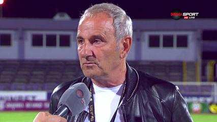 Никола Спасов: Доволeн съм от точката, надявам се Карачанаков да вдигне нивото
