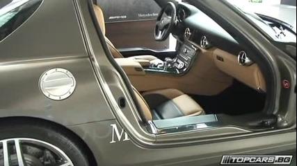 Mercedes Sls за първи път в България