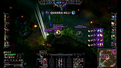 League Of Legends - Quadra Kill / Talon