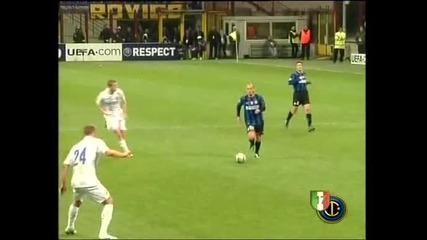 Inter - Cska Milito goal