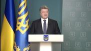 Ukraine: President Poroshenko calls on PM Yatsenyuk to resign