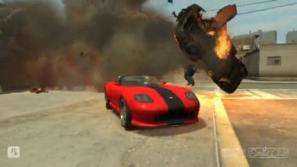 Gta 4 Stunts Crashes