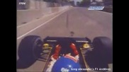 Patrick Tambay onboard Adelaide 1984