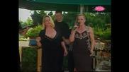 Vesna Zmijanac i Snezana Djurisic - Idi, siroko ti polje - LIVE - Lea Kis u Lepezi (TV Pink 2010)