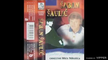 Saban Saulic - Sve mi uzmi samo dusu nemoj - (Audio 1997)