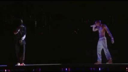 2pac На Живо 16.04.2012 !!! Hail Mary ft. Snoop Dog & Dr. Dre