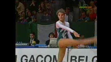 Диана Попова - обръч - 1992 г.