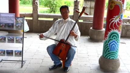 Монголска музика с морин хуур и дръмбой