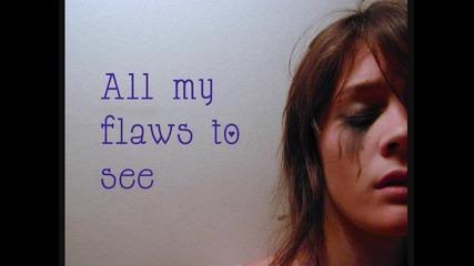 Caitlin Crosby - Flawz {lyrics}