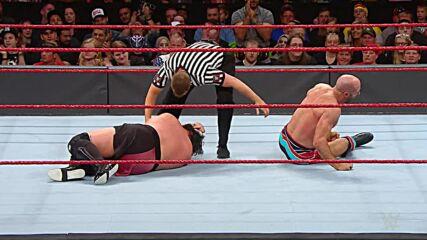 Cesaro vs. Samoa Joe – King of the Ring First-Round Match: Raw, Aug. 19, 2019 (Full Match)