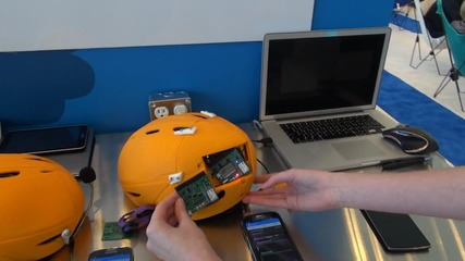 Каска с GPS и GSM Спасява Живот