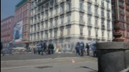 Italy: Police use water cannon, tear gas as Renzi visits Naples