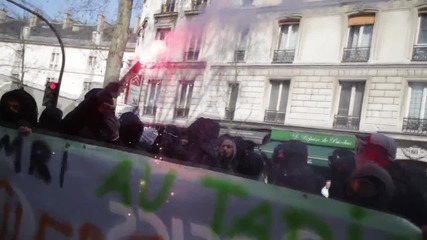 France: Violent clashes erupt at Paris labour reform demo, 130 arrested