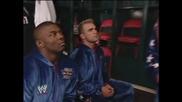 Kurt Angle and Team Angle Backstage | Wwe Smackdown 30.1.2003