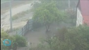 Russia's Former Olympic City of Sochi Under Water After Flash Floods
