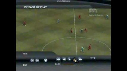 Гол На Gerrard Fifa 07