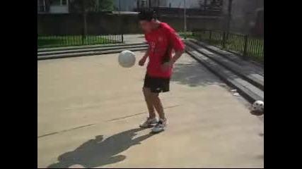 Жонглираране с Футболна Топка