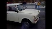Trabant P601 Burnout