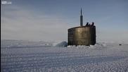 Подводница излиза на повърхността
