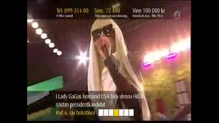 Lady Gaga - Just Dance (live Sommarkrysset 2008)