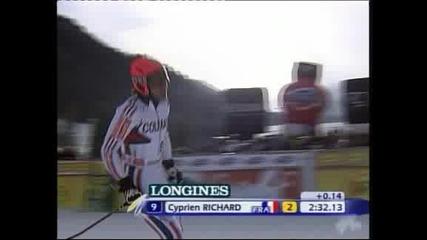 Лигети спечели гигантския слалом и поведе в  генералното класиране